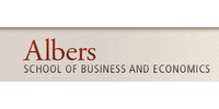 Logo Albers School of Business and Economics