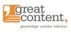 Logo van greatcontent