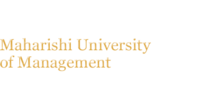 Logo Maharishi University of Management Department of Business Administration