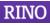 Logo van RINO Noord-Holland