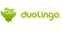 Logo van Duolingo taal leren