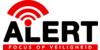 Logo van Alert, focus op veiligheid