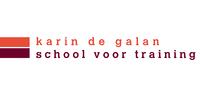Logo van karin de galan school voor training