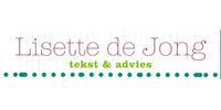 Logo van Lisette de Jong tekst & advies