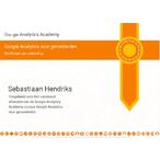 Thumbnail google analytics certificaat