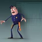 Square animating cartoon characters maya 3485 v1