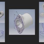 Square inventor parametric modeling sketch constraints v1
