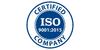 Logo van ISO 9001:2015
